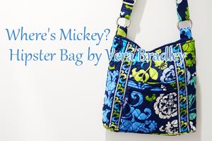 ヴェラブラッドリー×ディズニー(ミッキー)コラボWhere's Mickey? Hipster