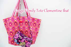Large Family Tote Clementine Ikat ジムにも買い物にも使える超便利!
