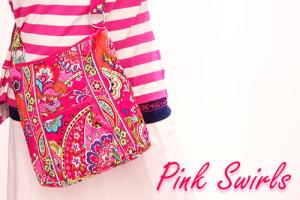 Pink Swirls一足お先に新柄♪Pink Swirlsコーデ