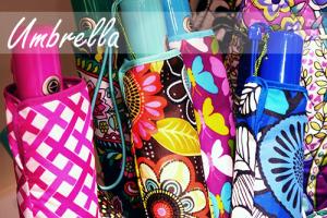 ヴェラブラッドリーの傘買いました♪ UmbrellaアンブレラPetal Paisley