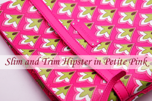Pink Swirls裏地Petite PinkのSlim and Trim Hipster超レア!