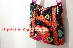 Hipster in Ziggy Zinnia ジギージニア夏も秋も大活躍万能カラー