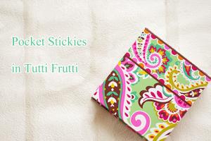 Pocket Stickies Tutti Frutti ヴェラブラッドリーメモ帳&付箋