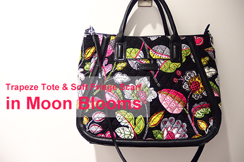 Trapeze Tote in Moon Blooms