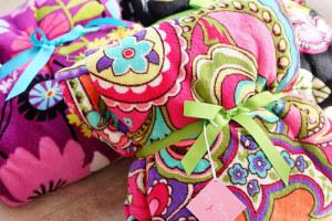 ヴェラブラッドリーの毛布 Throw Blanket 3枚ゲット!