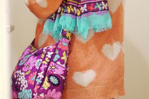 Flutterbyフラターバイのオンザゴーとスカーフ