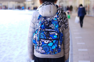 Lighten Up Large Backpack in Blue Bayou