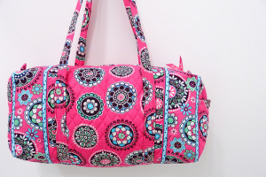 Small Duffel in Cupcakes Pink 2009年リタイアカラー
