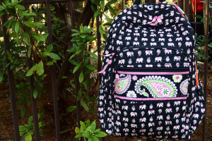 Campus Backpack in Pink Elephants 桃象さんのバックパック♪