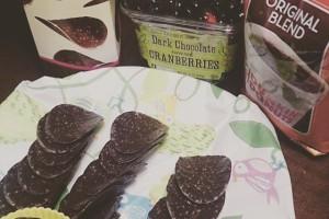 トレジョーのチョコチップス、NYで買ったのを友達の家で食べました!#traderjoes #オーガニック