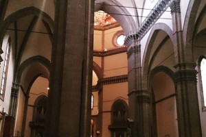 フィレンツェ大聖堂、中は地味ですが…