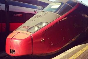 イタロにのります。フィレンツェへ