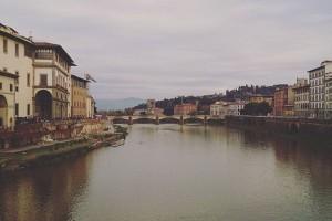 フィレンツェの川きれい!