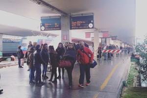 フィレンツェ駅に到着!