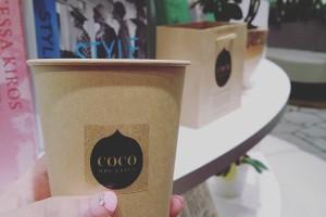 渋谷ヒカリエにてココオーガニックのイベント参加してます! ブランドプロデューサー渡辺さん自作のココナッツオイル入りコールドプレスジュースいただきました! #COCO_ORGANICS #日本初ココナッツオイルのオーガニックコスメ #オーガニックコスメ